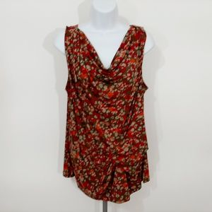 Michael Kors Women's Sleeveless Top Size XL Multi
